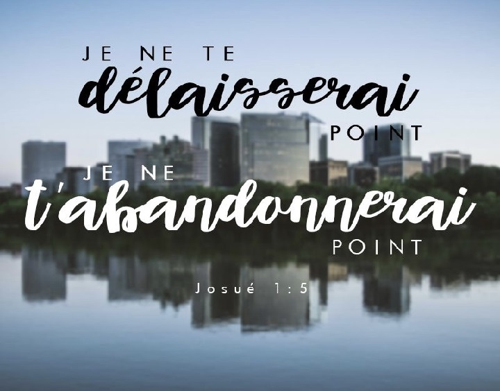Je ne te délaisserai point je ne t'abandonnerai point